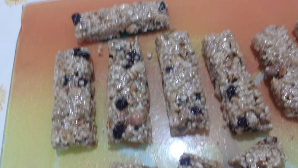 Barrinhas de Cereais com Mogumbas